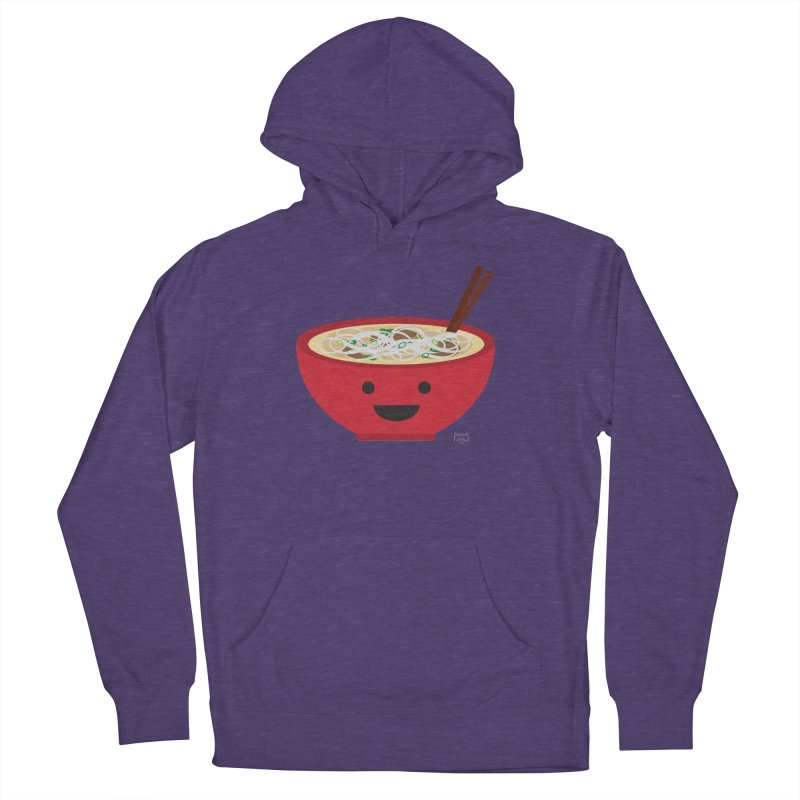 Pho-king tasty Men's French Terry Pullover Hoody by lolo designs