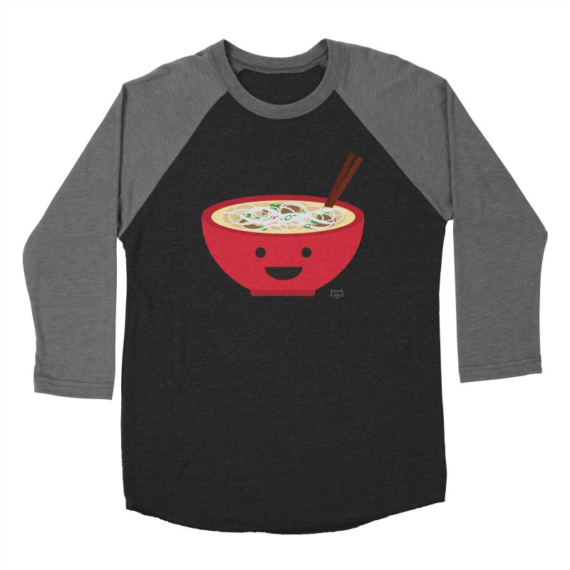Pho-king tasty Women's Baseball Triblend Longsleeve T-Shirt by lolo designs