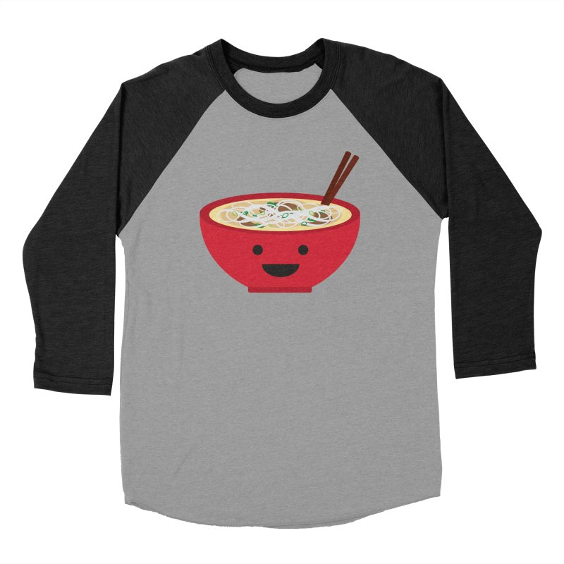 Pho-king tasty Men's Baseball Triblend Longsleeve T-Shirt by lolo designs