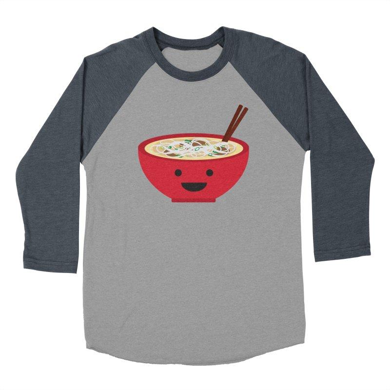 Pho-king tasty Men's Baseball Triblend T-Shirt by lolo designs