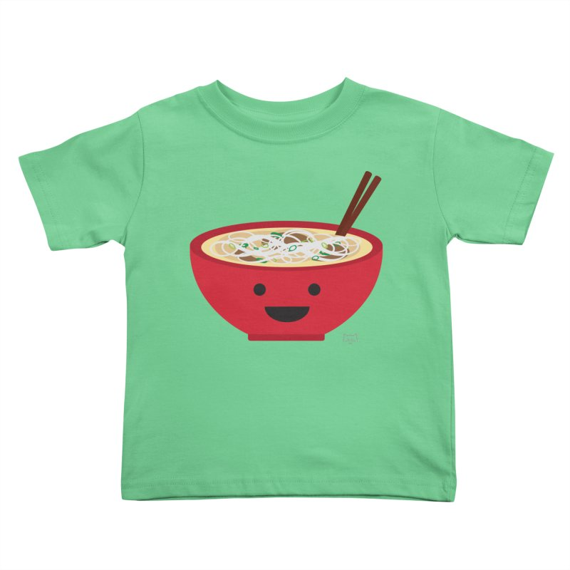 Pho-king tasty Kids Toddler T-Shirt by lolo designs
