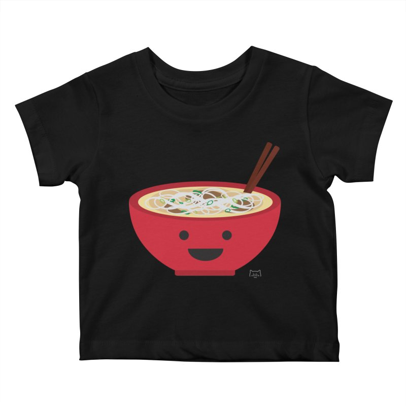 Pho-king tasty Kids Baby T-Shirt by lolo designs