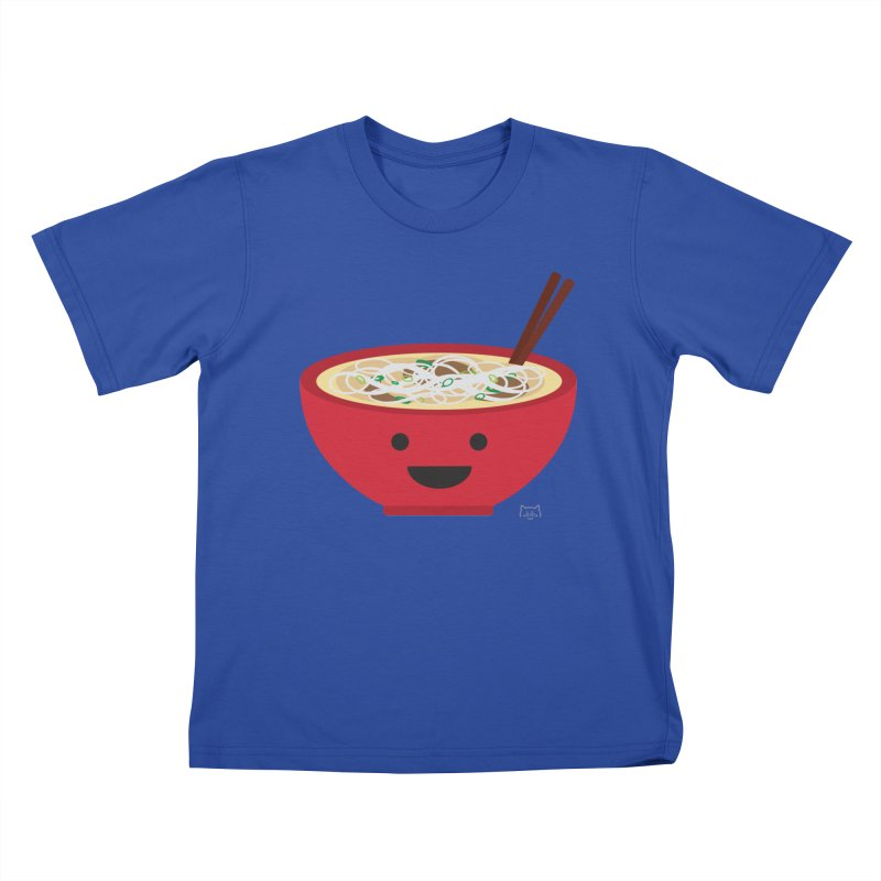 Pho-king tasty Kids T-Shirt by lolo designs