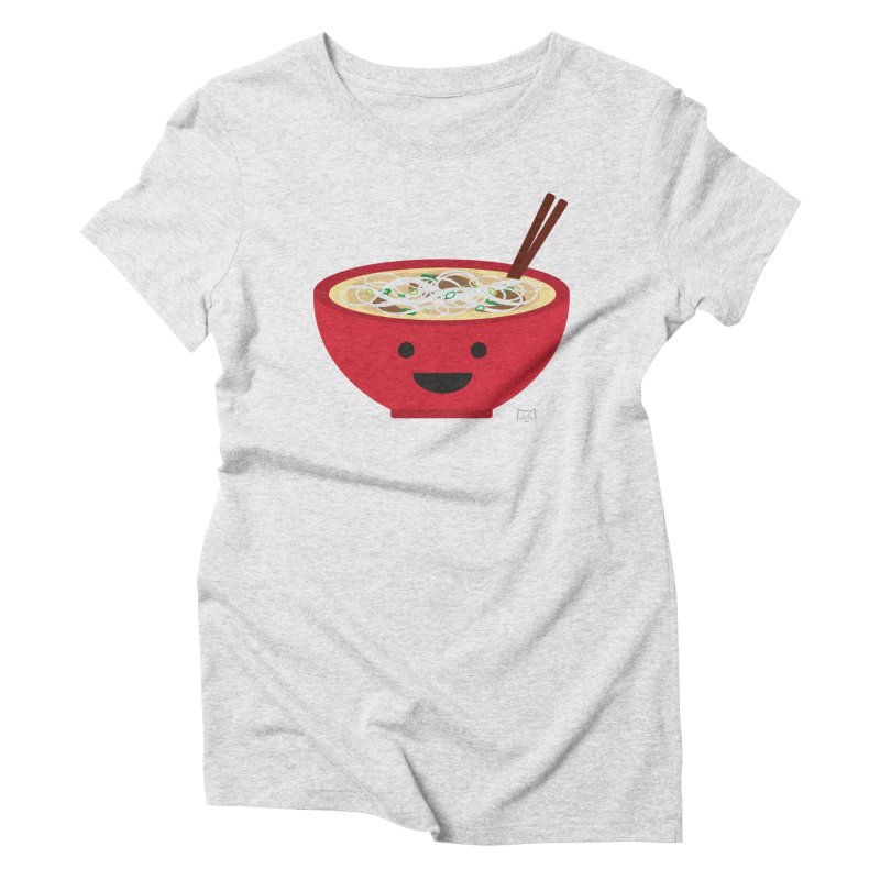 Pho-king tasty Women's Triblend T-Shirt by lolo designs