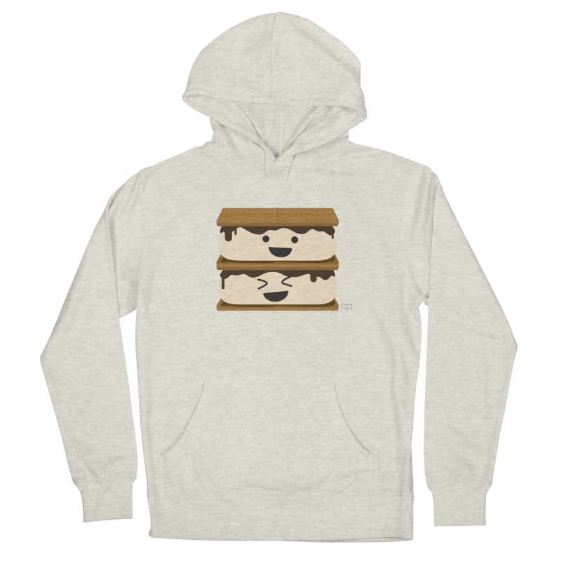 S'more fun Men's French Terry Pullover Hoody by lolo designs