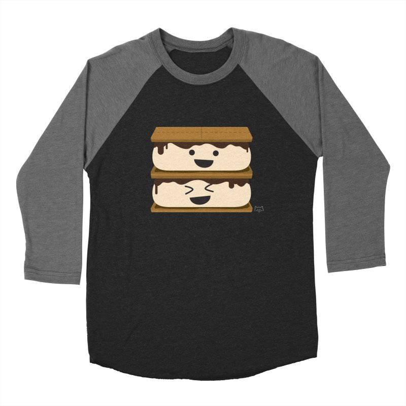 S'more fun Women's Baseball Triblend Longsleeve T-Shirt by lolo designs