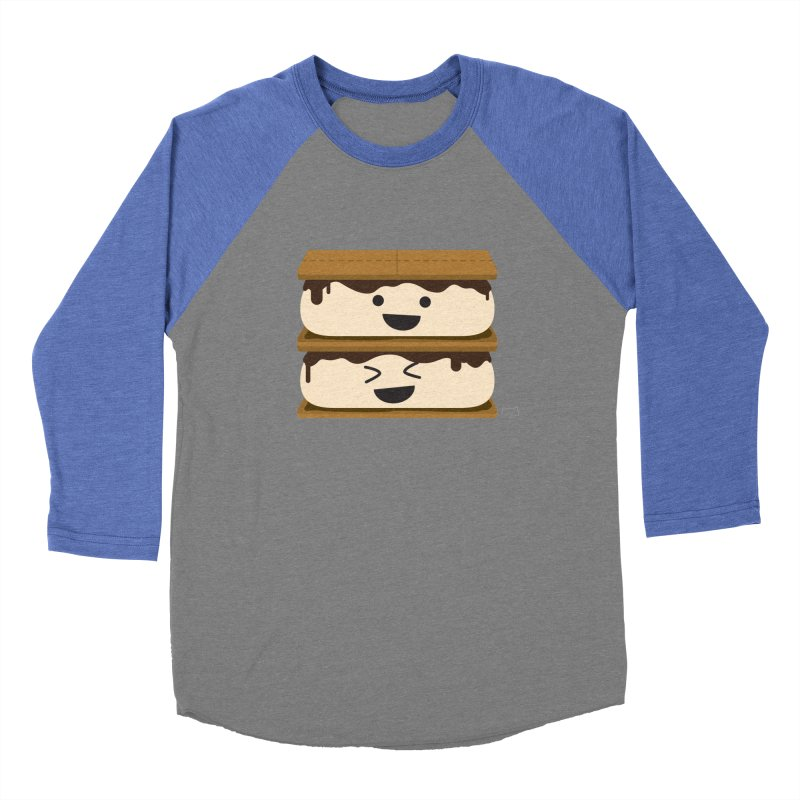 S'more fun Men's Baseball Triblend Longsleeve T-Shirt by lolo designs