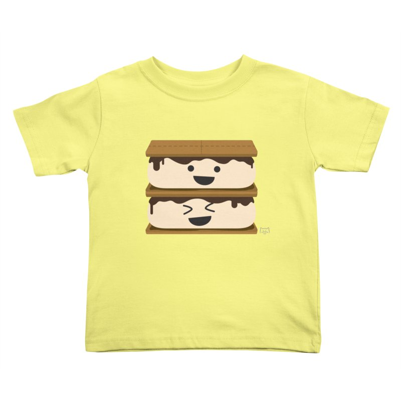 S'more fun Kids Toddler T-Shirt by lolo designs