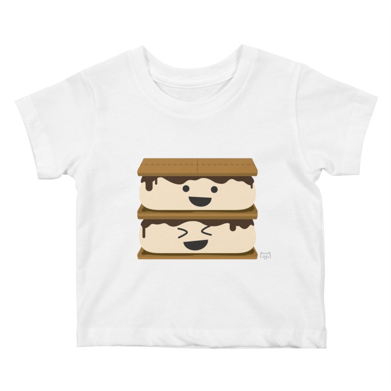 S'more fun Kids Baby T-Shirt by lolo designs