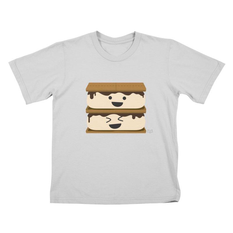 S'more fun Kids T-Shirt by lolo designs