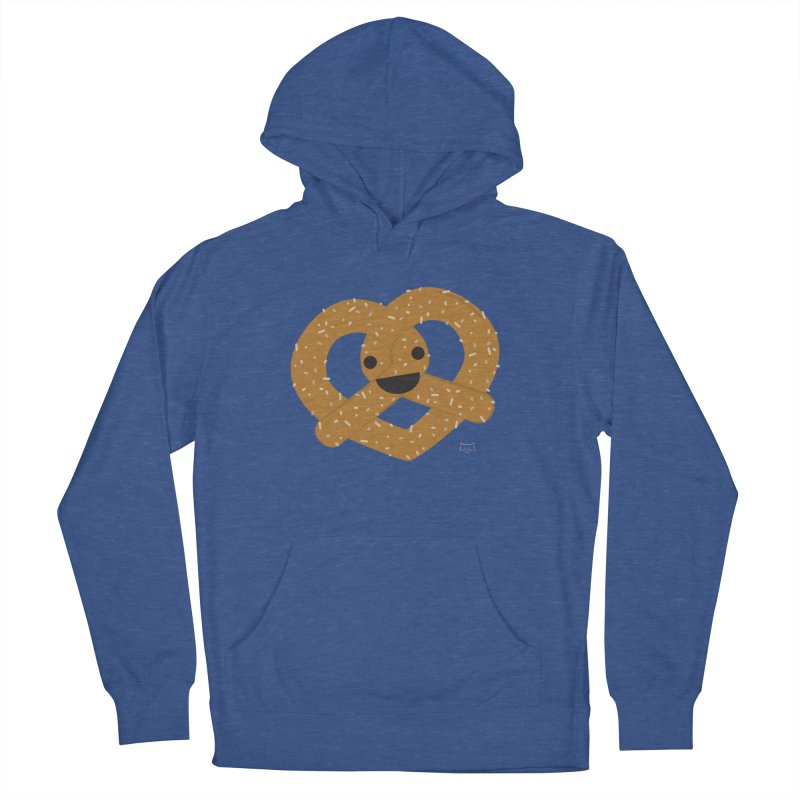 Knotty snack Men's French Terry Pullover Hoody by lolo designs