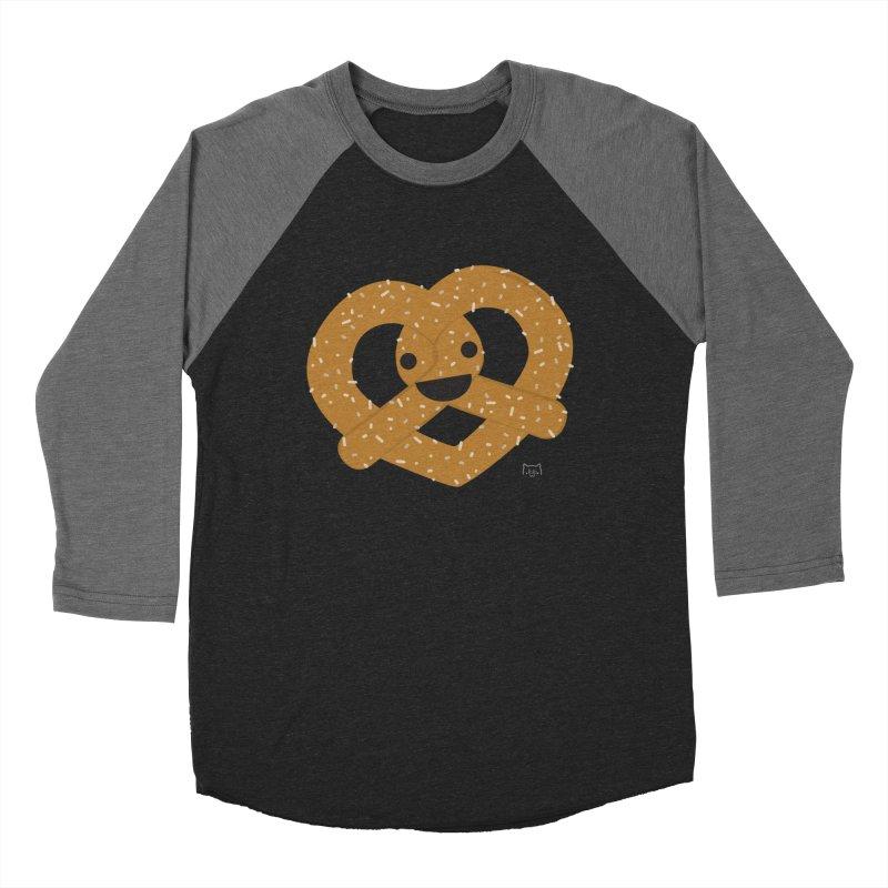 Knotty snack Men's Baseball Triblend Longsleeve T-Shirt by lolo designs