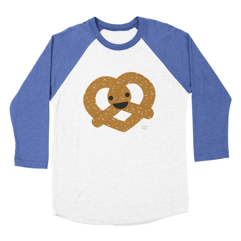 Knotty snack Men's Baseball Triblend T-Shirt by lolo designs