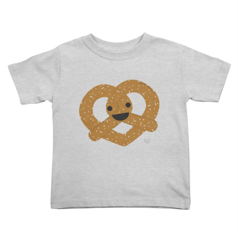 Knotty snack Kids Toddler T-Shirt by lolo designs
