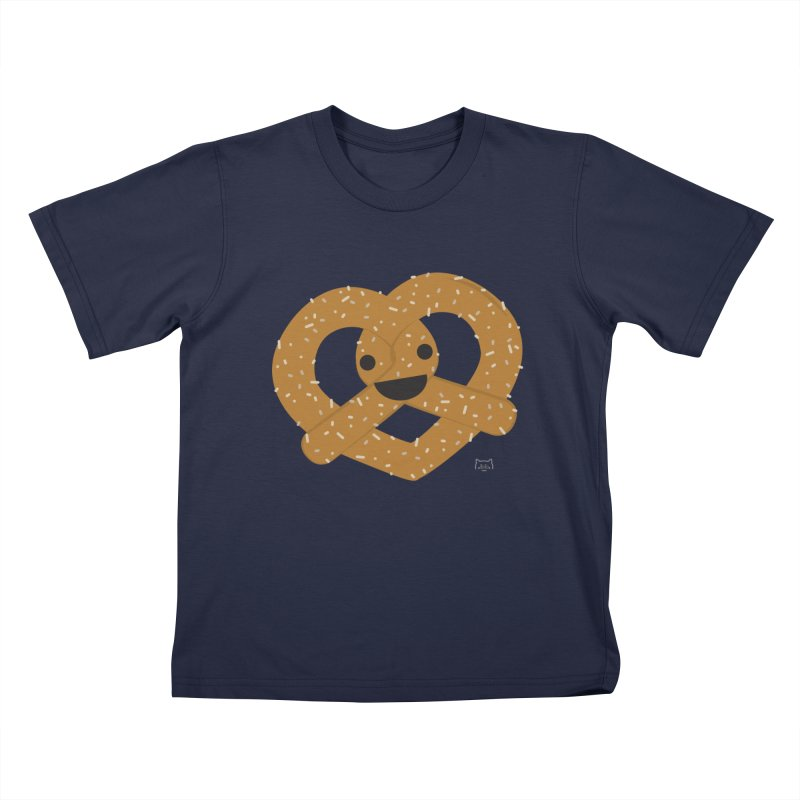 Knotty snack Kids T-Shirt by lolo designs