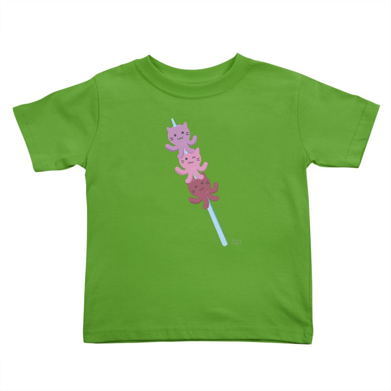 Squiskers Kids Toddler T-Shirt by lolo designs