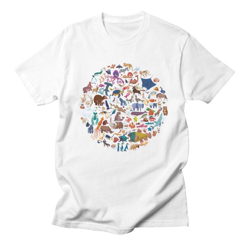 Animal Kingdom Men's T-Shirt by lomp's Artist Shop