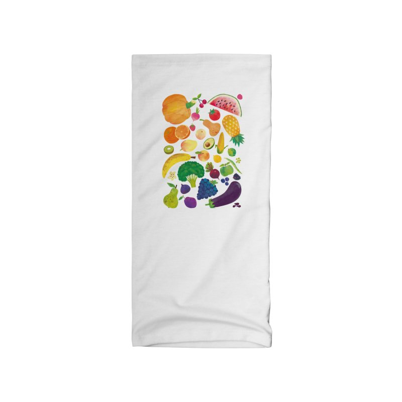 Fruits and Vegetables Accessories Neck Gaiter by lomp's Artist Shop