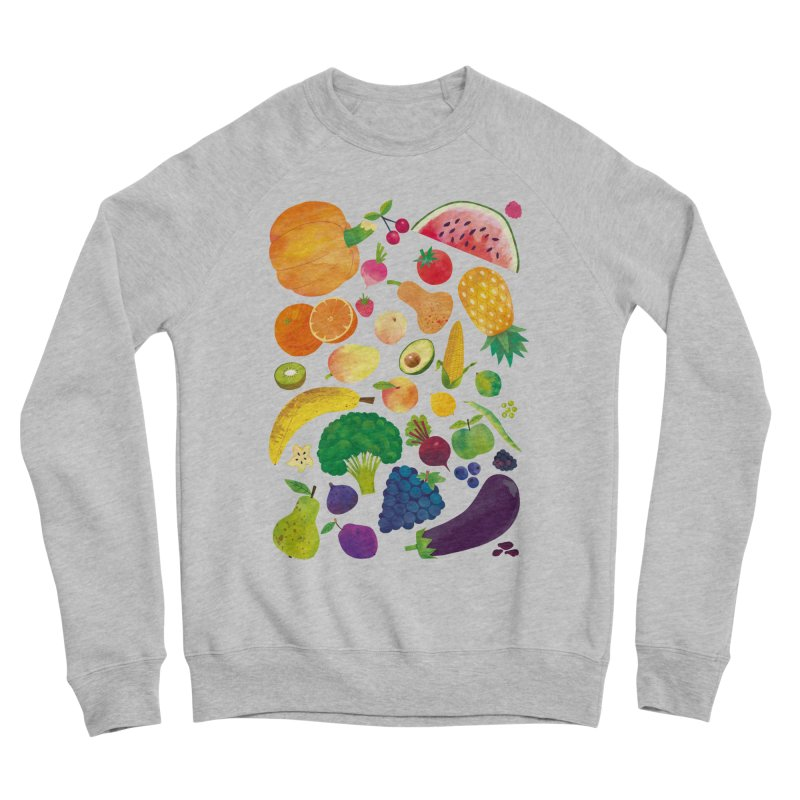 Fruits and Vegetables Women's Sweatshirt by lomp's Artist Shop