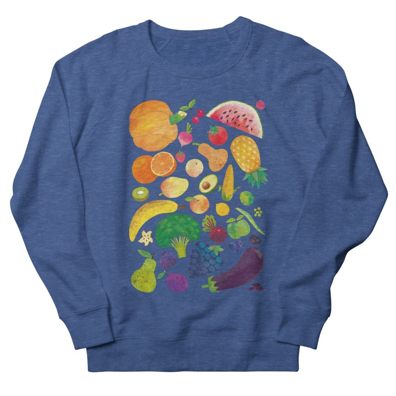 Fruits and Vegetables Men's Sweatshirt by lomp's Artist Shop