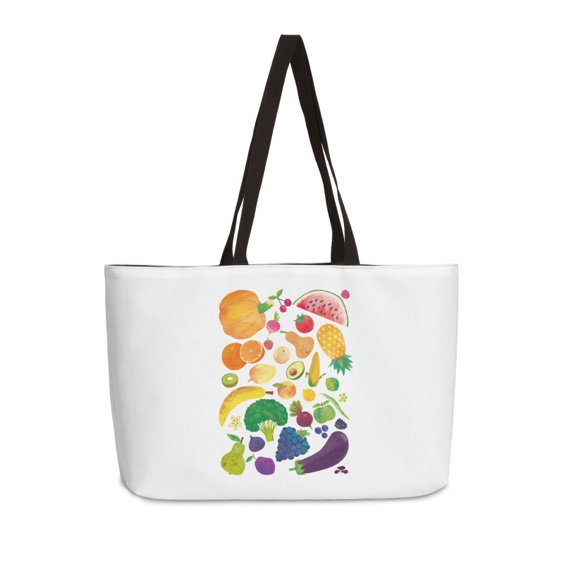 Fruits and Vegetables Accessories Bag by lomp's Artist Shop