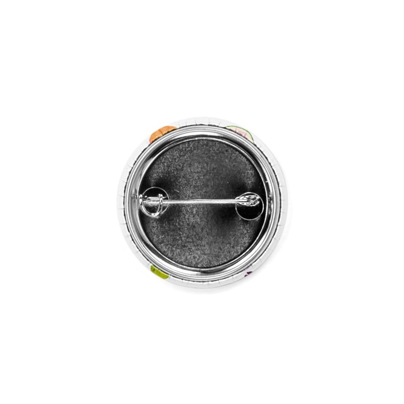 Fruits and Vegetables Accessories Button by lomp's Artist Shop