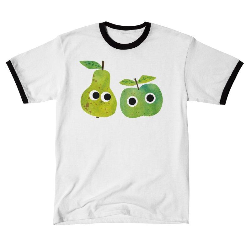 Apple & Pear Men's T-Shirt by lomp's Artist Shop