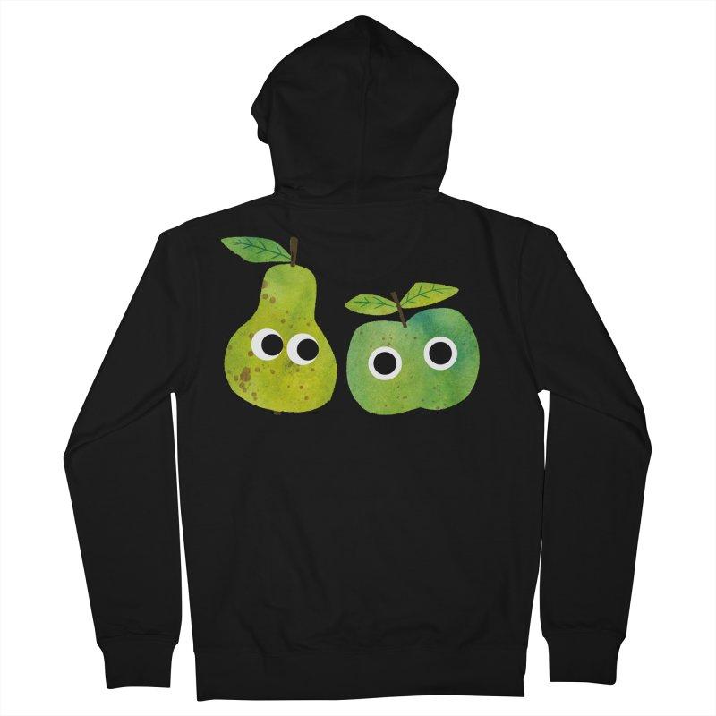 Apple & Pear Women's Zip-Up Hoody by lomp's Artist Shop