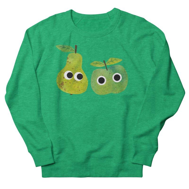 Apple & Pear Women's Sweatshirt by lomp's Artist Shop