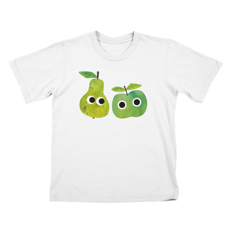 Apple & Pear Kids T-Shirt by lomp's Artist Shop