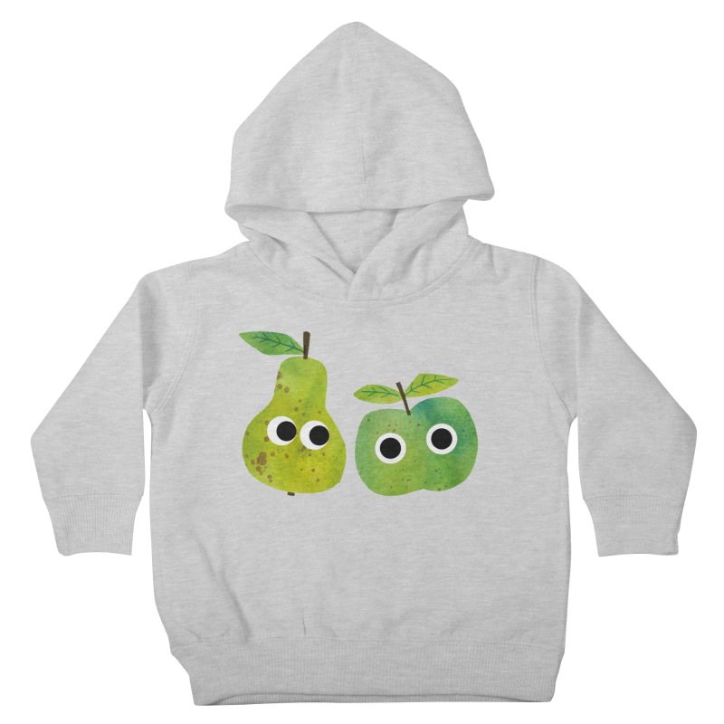 Apple & Pear Kids Toddler Pullover Hoody by lomp's Artist Shop
