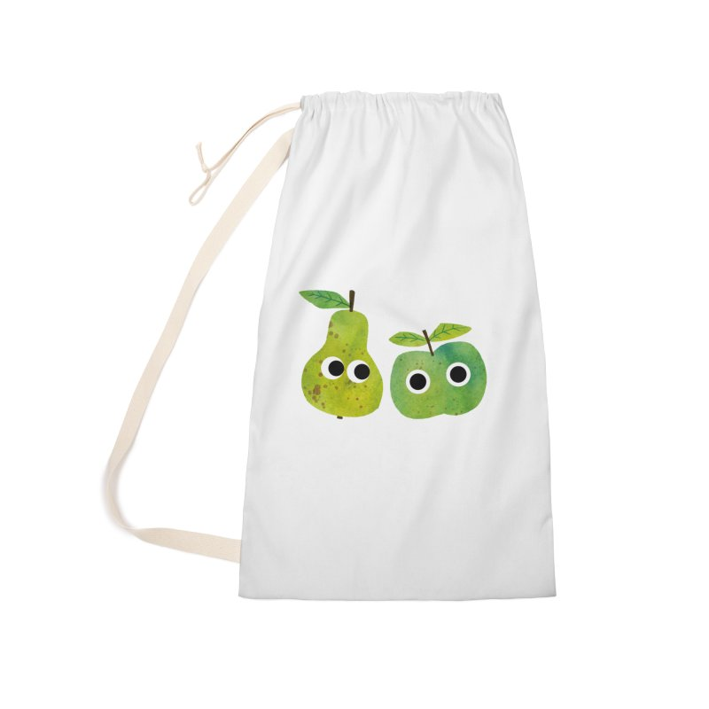 Apple & Pear Accessories Bag by lomp's Artist Shop