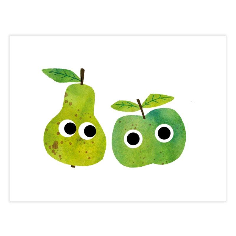 Apple & Pear Home Fine Art Print by lomp's Artist Shop