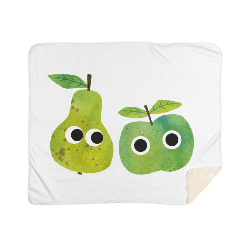 Apple & Pear Home Blanket by lomp's Artist Shop