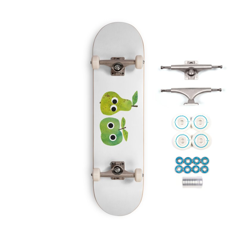Apple & Pear Accessories Skateboard by lomp's Artist Shop