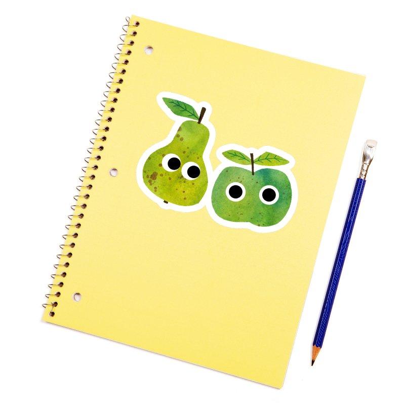 Apple & Pear Accessories Sticker by lomp's Artist Shop