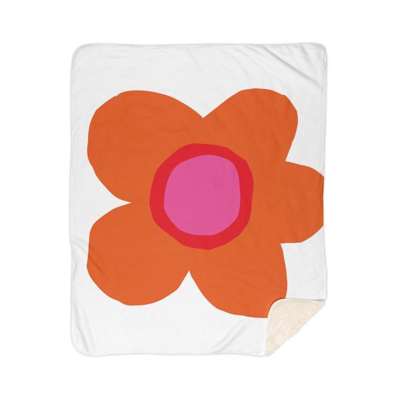 Flower Home Blanket by lomp's Artist Shop