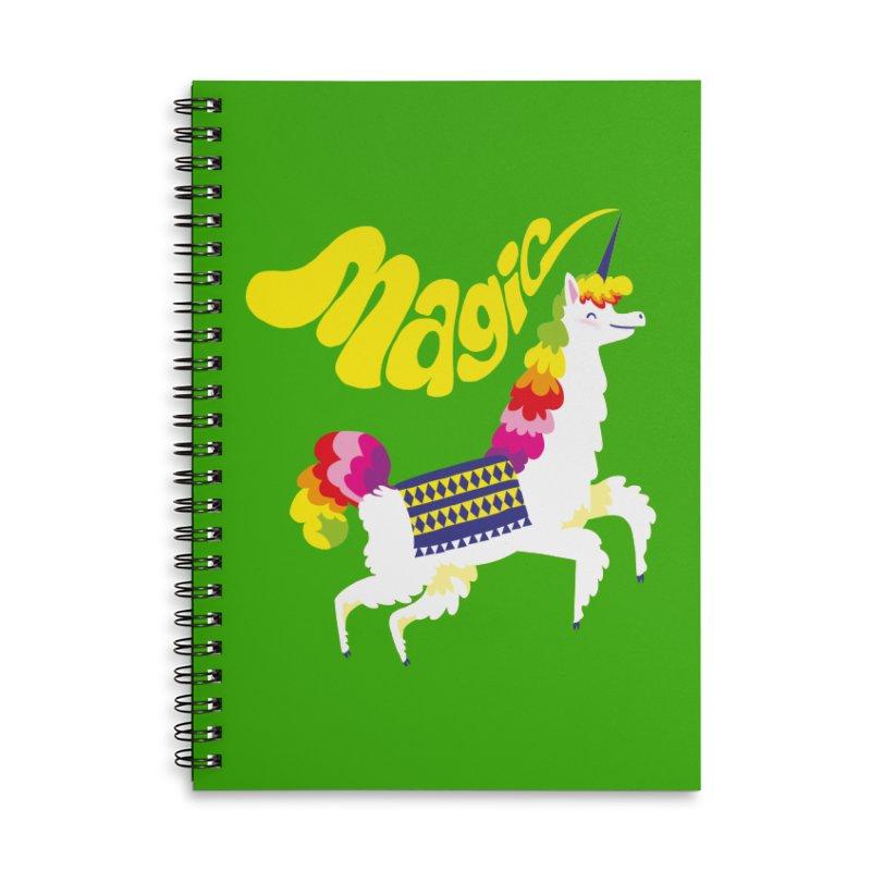 Unillama Magic Accessories Notebook by lomp's Artist Shop