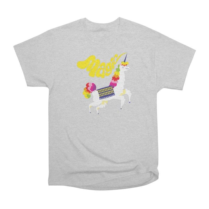 Unillama Magic Women's T-Shirt by lomp's Artist Shop