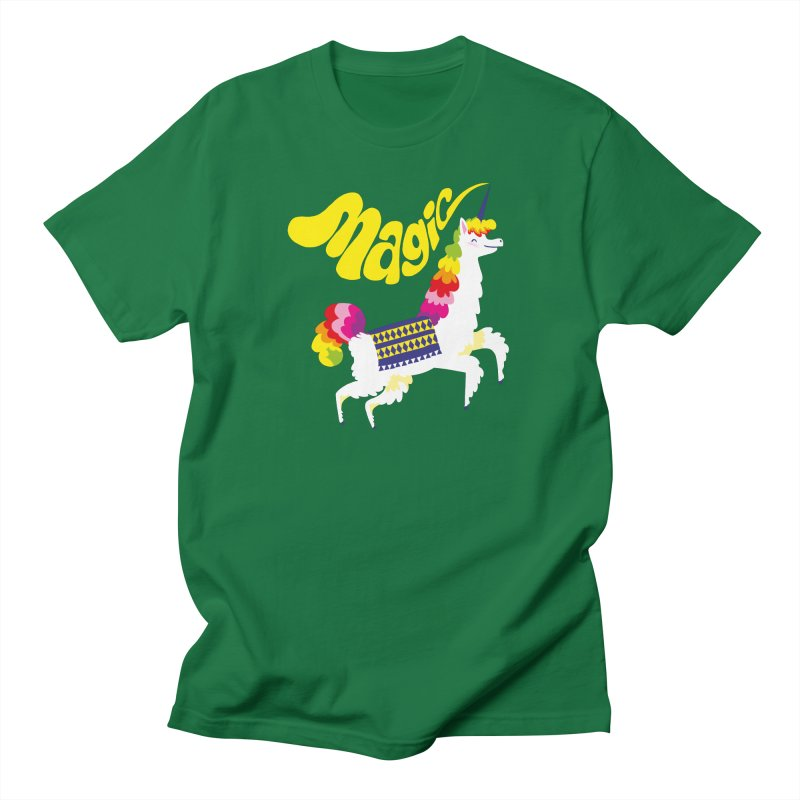 Unillama Magic Men's T-Shirt by lomp's Artist Shop
