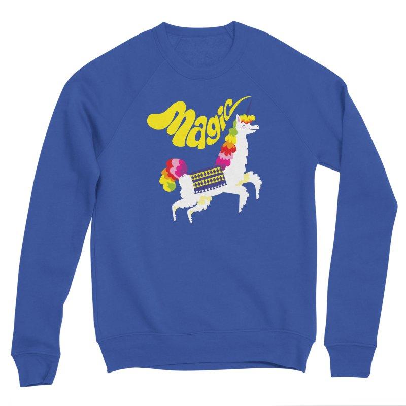 Unillama Magic Women's Sweatshirt by lomp's Artist Shop