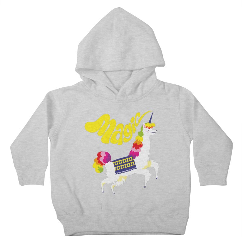 Unillama Magic Kids Toddler Pullover Hoody by lomp's Artist Shop