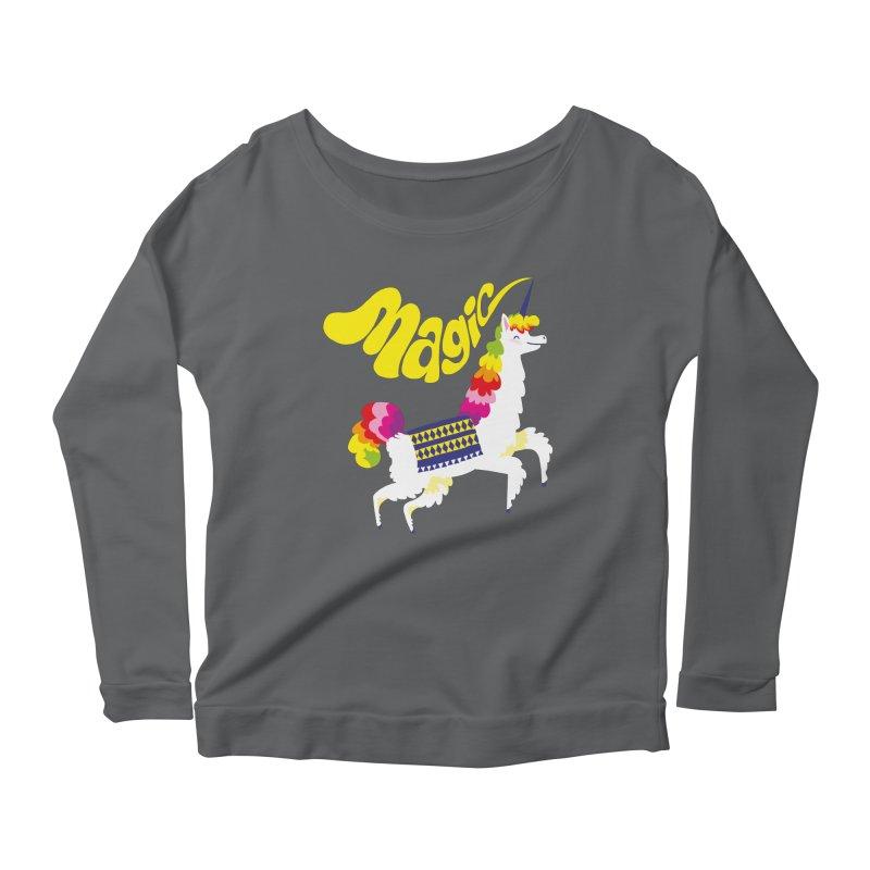 Unillama Magic Women's Longsleeve T-Shirt by lomp's Artist Shop