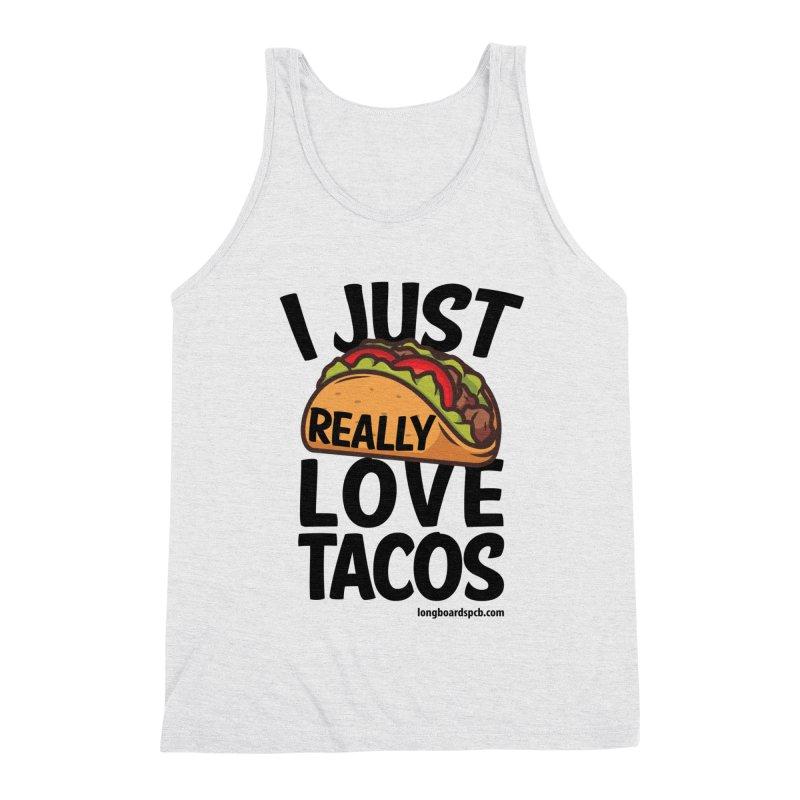 Taco Lover's Men's Tank by Longboard's Store