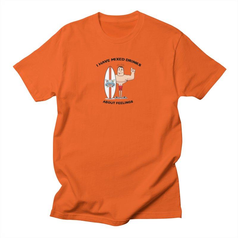 Mixed Drinks or Feelings? Men's T-Shirt by Longboard's Store