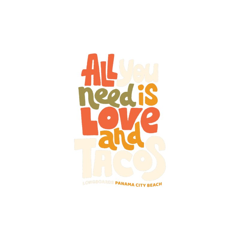 All You Need Is Tacos Home Throw Pillow by Longboard's Store