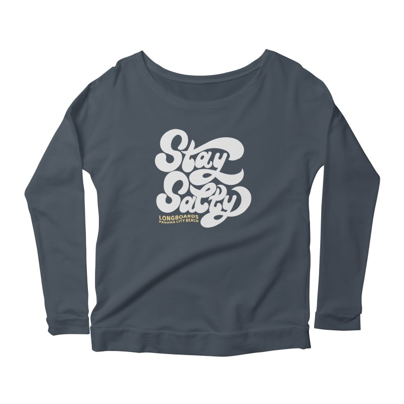 Stay Salty Friends Women's Longsleeve T-Shirt by Longboard's Store