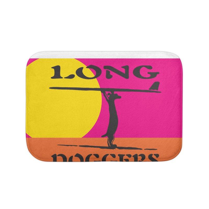 Long Doggers Endless Summer Home Bath Mat by Long Dogger's Merch Store
