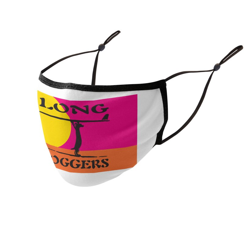 Long Doggers Endless Summer Accessories Face Mask by Long Dogger's Merch Store