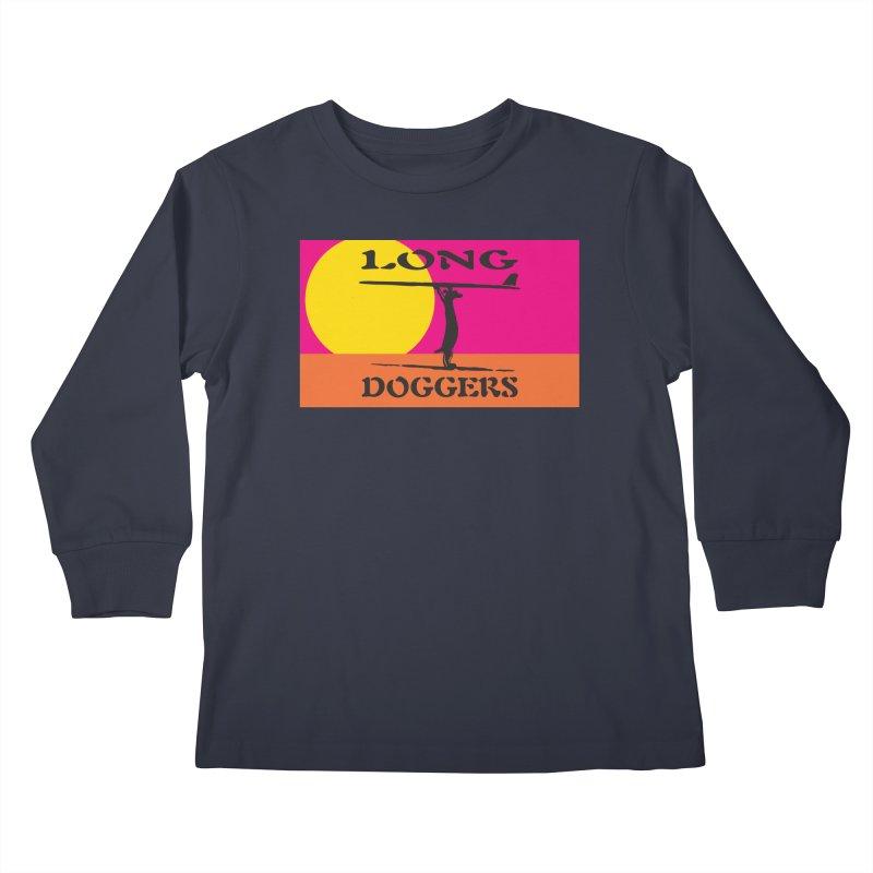 Long Doggers Endless Summer Kids Longsleeve T-Shirt by Long Dogger's Merch Store